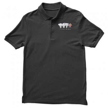 It's Ok Polo Shirt Designed By