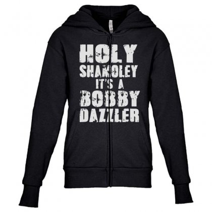 It's A Bobby Youth Zipper Hoodie Designed By
