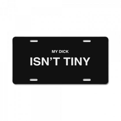 Isn't Tiny License Plate Designed By