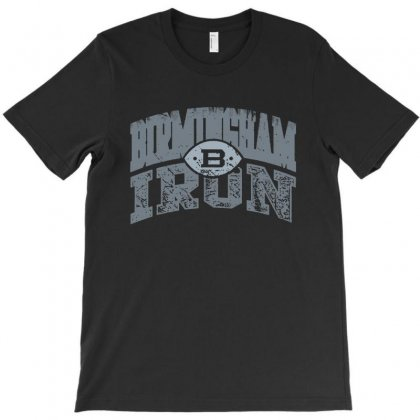 Iron Silver T-shirt Designed By