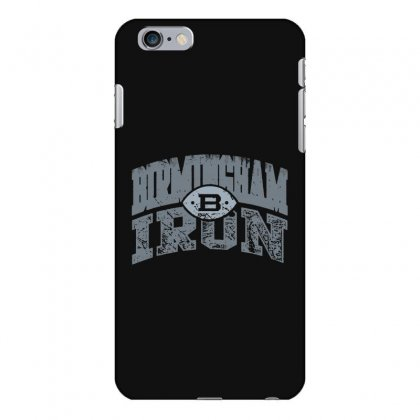 Iron Silver Iphone 6 Plus/6s Plus Case Designed By