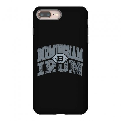 Iron Silver Iphone 8 Plus Case Designed By