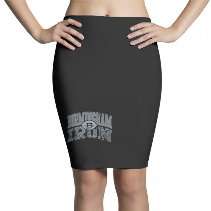 Iron Silver Pencil Skirts Designed By