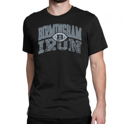 Iron Silver Classic T-shirt Designed By