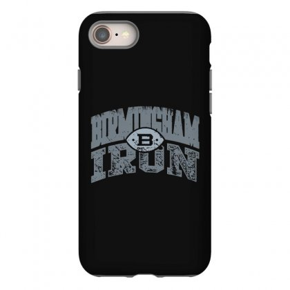 Iron Silver Iphone 8 Case Designed By