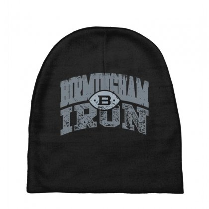 Iron Silver Baby Beanies Designed By