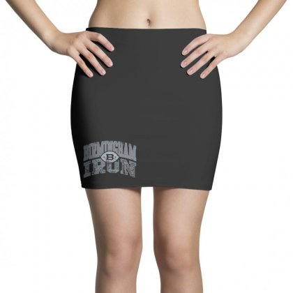Iron Silver Mini Skirts Designed By