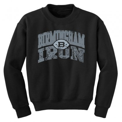 Iron Silver Youth Sweatshirt Designed By