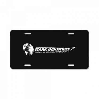 Iron Man Stark Industries Expo License Plate Designed By