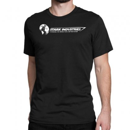Iron Man Stark Industries Expo Classic T-shirt Designed By