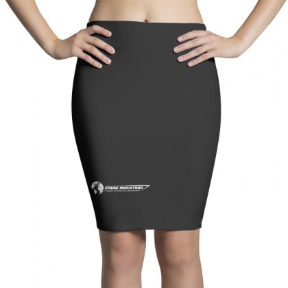 Iron Man Stark Industries Expo Pencil Skirts Designed By