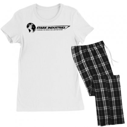 Iron Man Stark Industries Expo Women's Pajamas Set Designed By