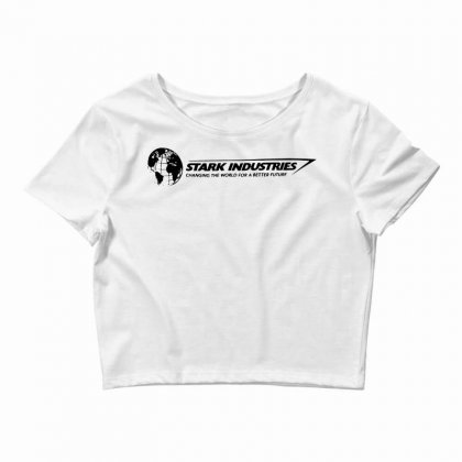 Iron Man Stark Industries Expo Crop Top Designed By