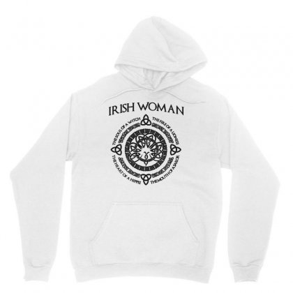 Irish Woman Unisex Hoodie Designed By