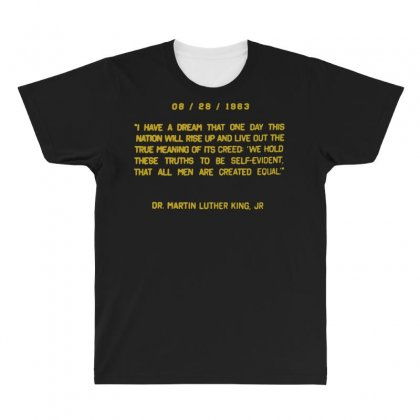 I Have A Dream All Over Men's T-shirt Designed By