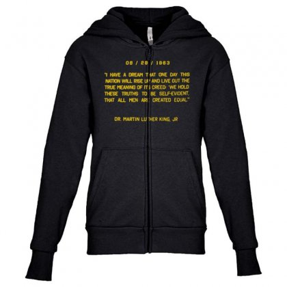 I Have A Dream Youth Zipper Hoodie Designed By