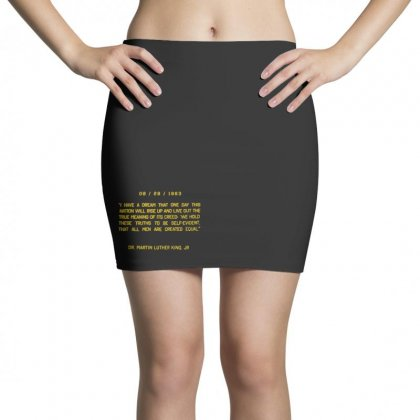 I Have A Dream Mini Skirts Designed By