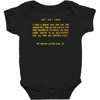 I Have A Dream Baby Bodysuit Designed By