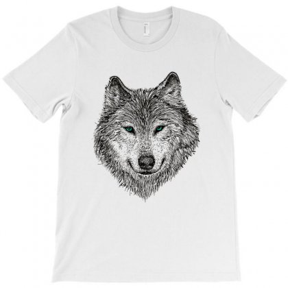 Wolf T-shirt Designed By