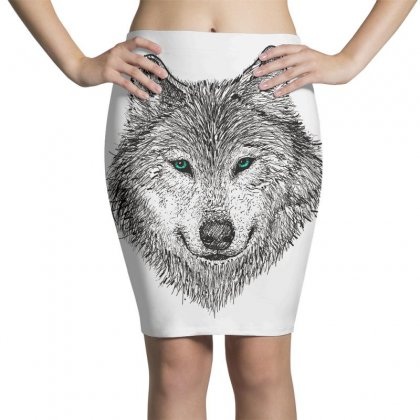 Wolf Pencil Skirts Designed By