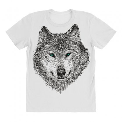 Wolf All Over Women's T-shirt Designed By