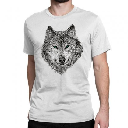 Wolf Classic T-shirt Designed By