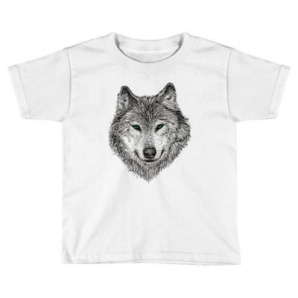 Wolf Toddler T-shirt Designed By