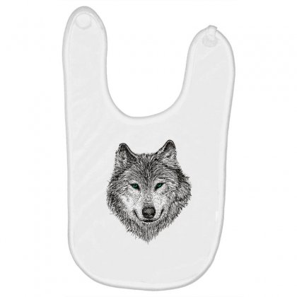 Wolf Baby Bibs Designed By