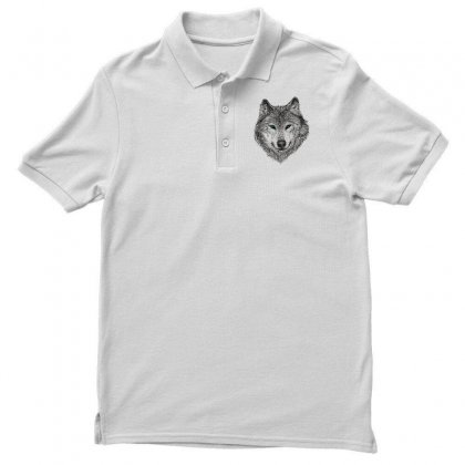 Wolf Polo Shirt Designed By