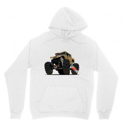 Hummer Monster Truck Unisex Hoodie Designed By