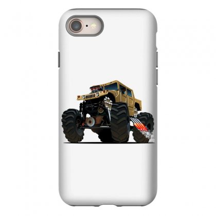 Hummer Monster Truck Iphone 8 Case Designed By