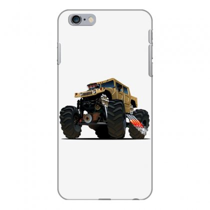 Hummer Monster Truck Iphone 6 Plus/6s Plus Case Designed By