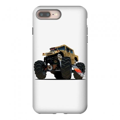 Hummer Monster Truck Iphone 8 Plus Case Designed By