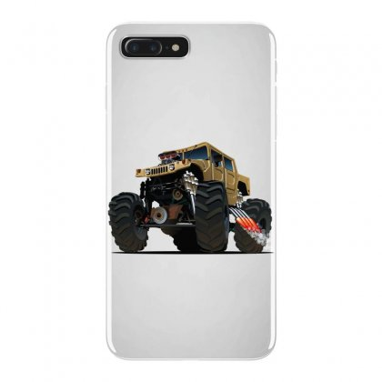Hummer Monster Truck Iphone 7 Plus Case Designed By
