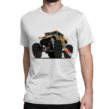 Hummer Monster Truck Classic T-shirt Designed By