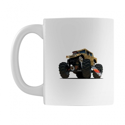 Hummer Monster Truck Mug Designed By