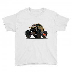 Hummer Monster Truck Youth Tee | Artistshot