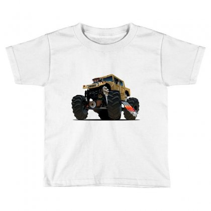 Hummer Monster Truck Toddler T-shirt Designed By