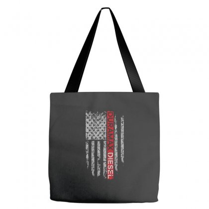 Duramax Diesel Flag Shirt Tote Bags Designed By Hung