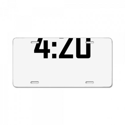 420 Funny License Plate Designed By
