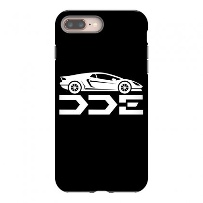 Daily Driven Exotics License Plate Iphone 8 Plus Case Designed By