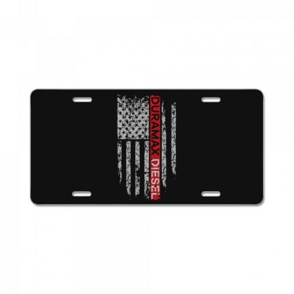Duramax Diesel Flag Shirt License Plate Designed By Hung