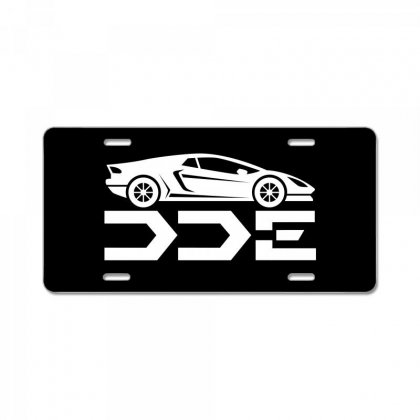 Daily Driven Exotics License Plate License Plate Designed By