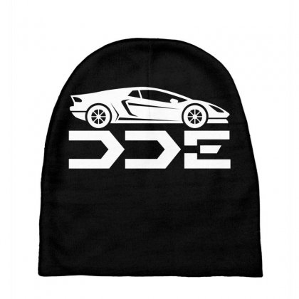 Daily Driven Exotics License Plate Baby Beanies Designed By