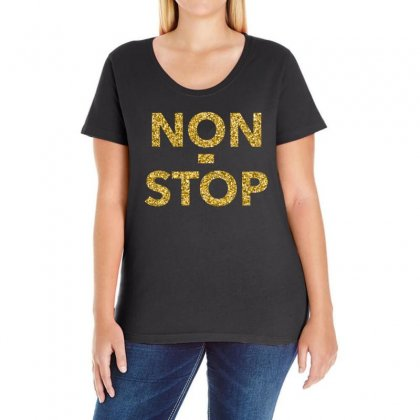 Non Stop  T Shirt Ladies Curvy T-shirt Designed By Hung