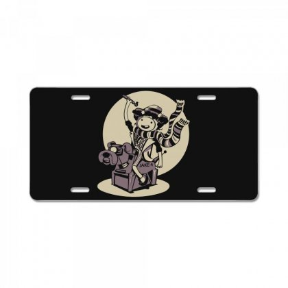 Adventure Time Lord 1977 License Plate Designed By