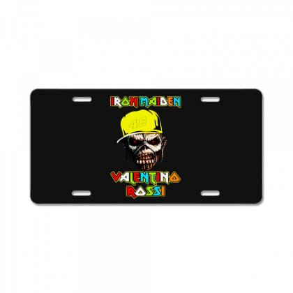 Iran Maiden License Plate Designed By