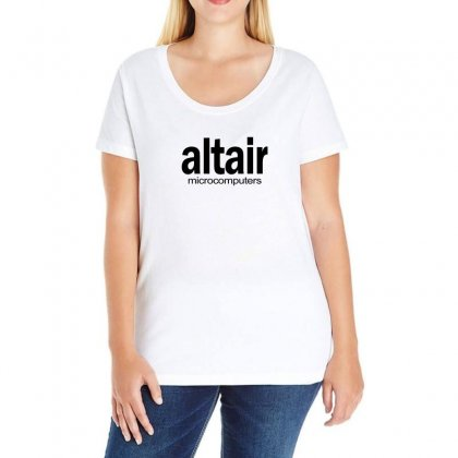 Altair Micro Computers Ladies Curvy T-shirt Designed By