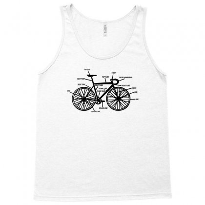Bike Anatomy Tank Top Designed By Equinetee