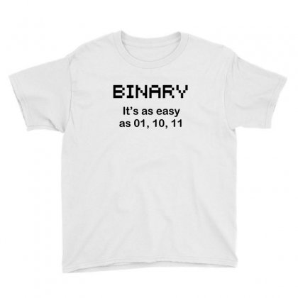 Binary Geekrammer N Youth Tee Designed By Equinetee